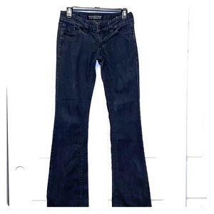 AFFLICTION Black Denim Jade Bootcut Jeans